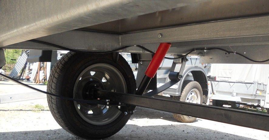 Прицеп Трейлер-82940Т Лайт : рессорно-амортизаторная подвеска