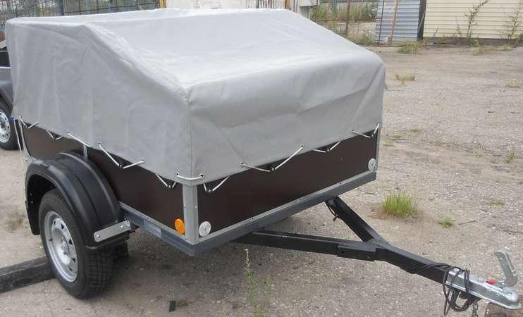 Прицеп САЗ-82994-30 - в комплектации с аэродинамическим тентом-каркасом