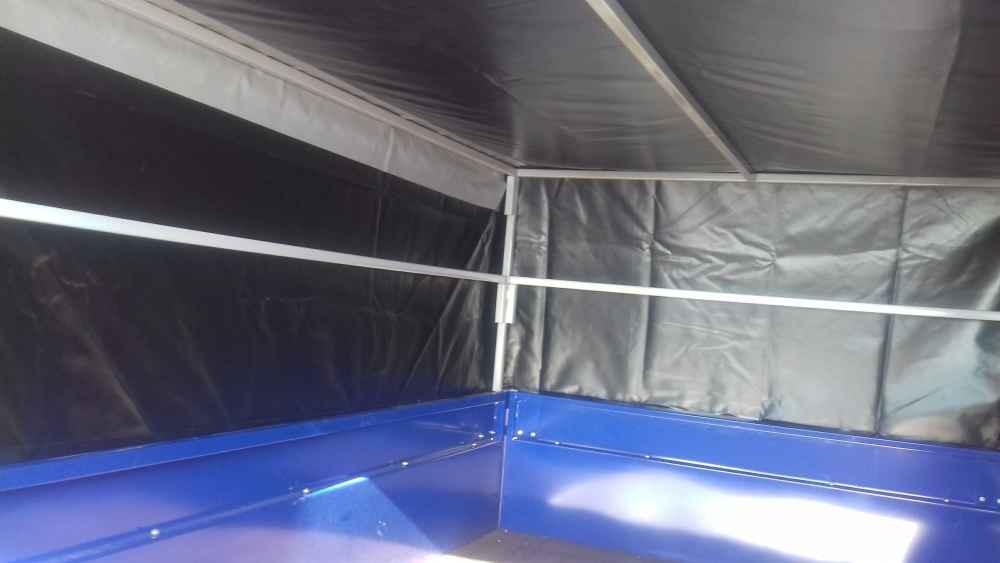 Аэродинамический тент для прицепа САЗ-82994 : внутри